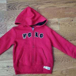 NWT POLO zip-up hoodie